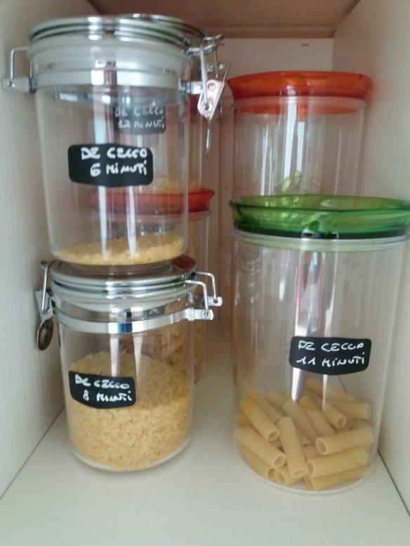 Organizzare la pasta